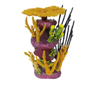 """St. Kitts"" All-in-One Customizeable, Colorable, and Low-Maintenance Coral Insert Habitat"