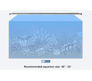 """QMaven II 6600A 36 Inch"" Fanless Silent, IP67 Waterproof, Large Lighting Area 34.5""L LED Fixture (LED Count = 112; Light Spread = 36"" x 24"")"