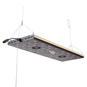 """Photon 24 V2+"" Extruded Aluminum, 24 Month U.S. Warrantied, Max PAR Coverage, High-UV Saltwater LED Lighting Fixture (comes with Mounting Legs, Full Hanging Kit, and Programming Controller┃316 Average PAR at 100%)"
