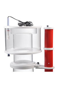 """Elite 220 SSS"" APEX-Ready, DC Controllable, Space Saving Protein Skimmer with Internal Pump, Skimmer Cup Float Switch Shutoff, and Ozone Compatibility"