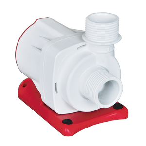 """Varios 8"" Highly Reliable, Wet/Dry and Saltwater/Freshwater Use, Controllable DC Water Circulation Pump (2 Year Pump Warranty┃Adjustable Flow up to 2700 GPH┃Max Head = 18 ft)"