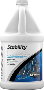 """Seachem Stability 2L"" Complete Aerobic, Anaerobic, and Facultative Bacteria New Tank Starter Solution (useful for New Tank Cycles)"