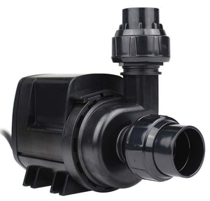 "Sicce ""Syncra ADV 9.0"" Silent, Energy Efficient, Complete AC Pump Kit (Flow = 2500GPH┃Max Head = 15'┃comes with Intake Screen, Fittings for Hard or Soft 3/4"" or 1"" Plumbing, Wire Chew Guard, and Rubber Feet)"