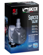 Sicce Syncra 3.0 Multipurpose, Completely Silent, and Energy Efficient Aquarium Pump (714 GPH; 9.9' Max Head)