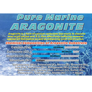 Tropic Eden Aragasnow 0.5mm Marine-Originated LIVE Aragonite Reef Substrate - 20 lbs