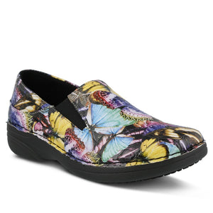 Ferrara Butterfly Clogs Heels - The Shoe Trunk