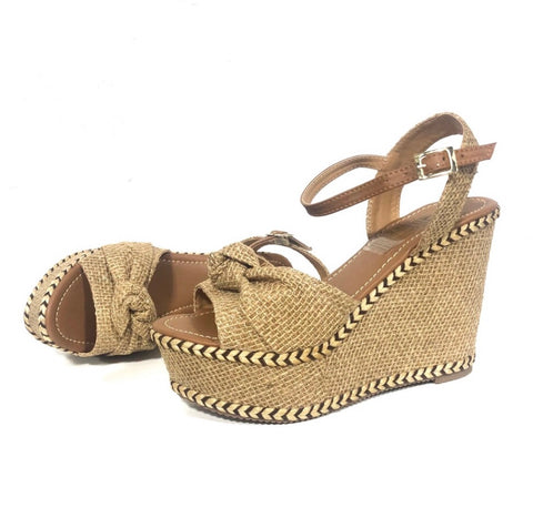 Xiomara Natural Wedges Heels