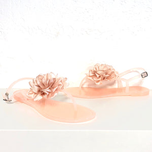 Jelli Nude Blush Pink Sandals - The Shoe Trunk