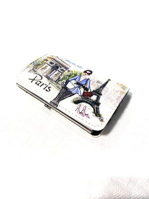 Business Card Holder: Paris