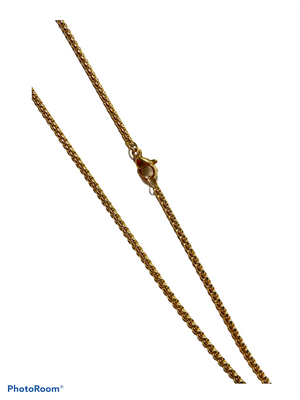 Stainless Steel Gold Necklace Chain