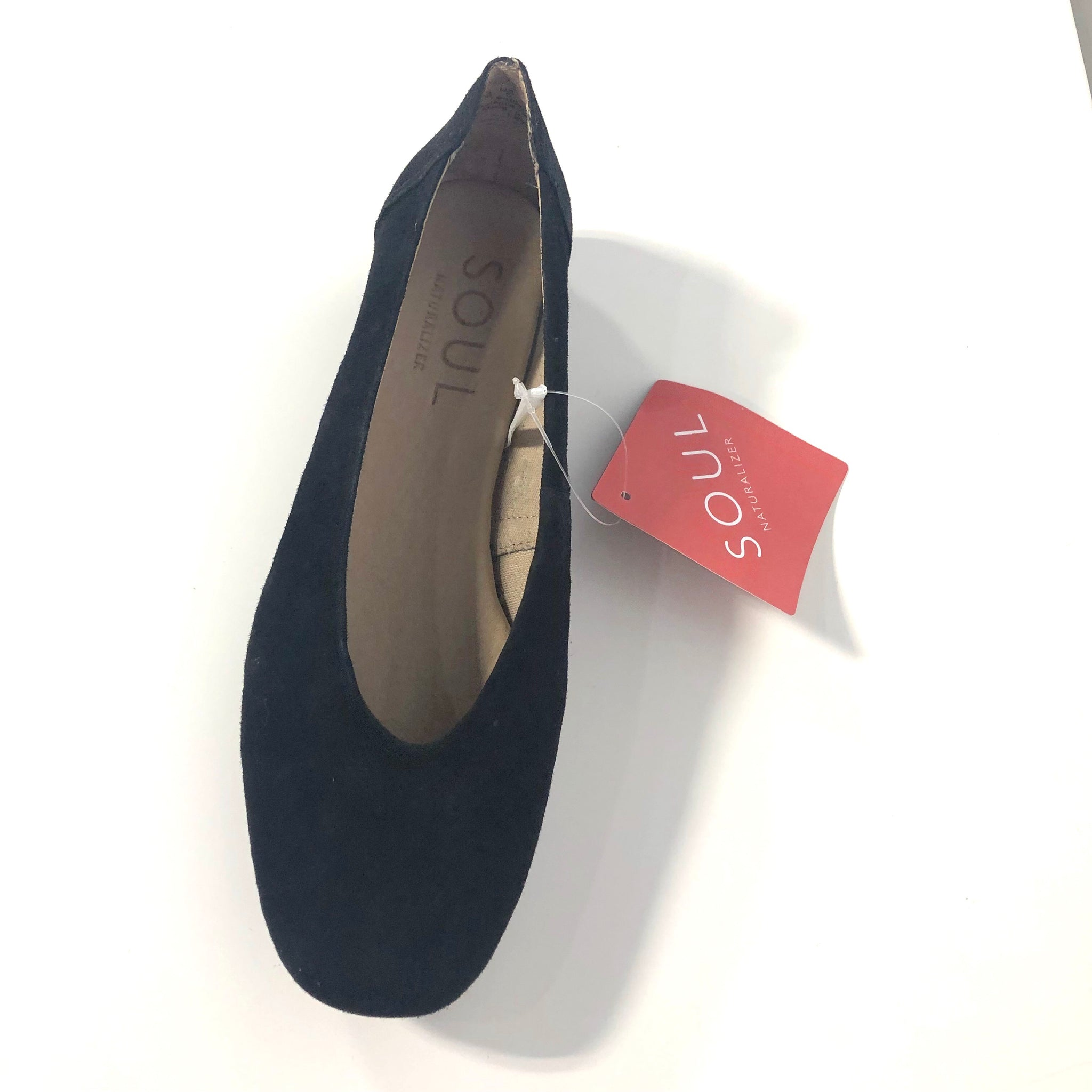 Leyla Black Suede Flats - The Shoe Trunk