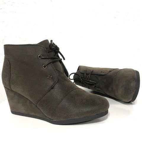 Sabrine Brown Boots Lace-Up Boots