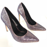 Lockdown Multicolor Pointed Toe Pumps - The Shoe Trunk