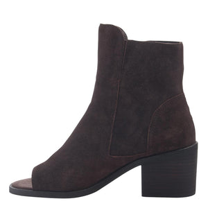 NINA in DARK BROWN, left view