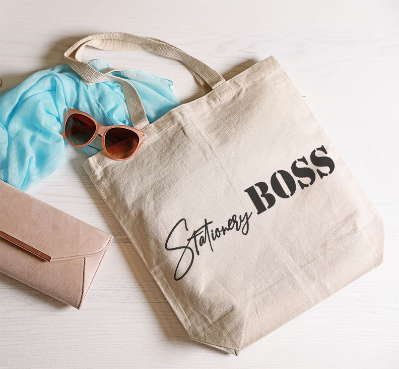 Stationery Boss Cotton Tote