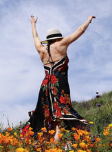 Load image into Gallery viewer, Rosetta Floral Boho Maxi Dress