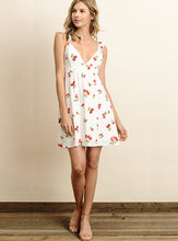 Load image into Gallery viewer, Cherry Ruffles Mini Dress