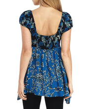 Load image into Gallery viewer, Free People La Bamba Babydoll Top (Black combo)