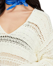 Load image into Gallery viewer, Free People Hot Tropics Open-Knit Sweater