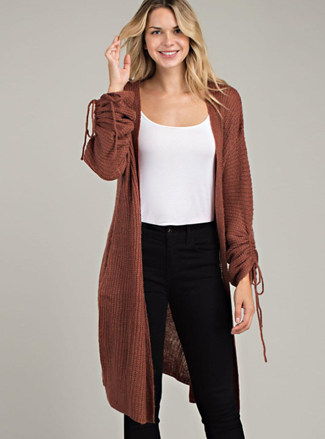 Long Sweater Cardigan