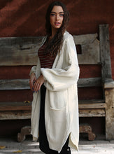 Load image into Gallery viewer, Jemma Long Knit Oversize Cardigan