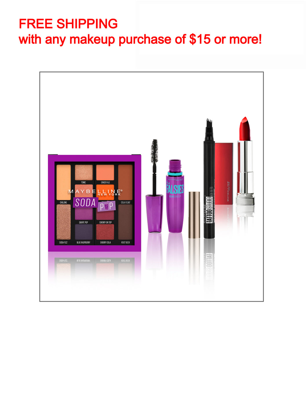 Maybelline Makeup Bundle