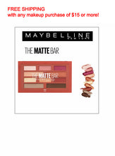 Load image into Gallery viewer, Maybelline The Matte Bar Eyeshadow Pallete