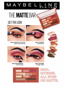 Maybelline The Matte Bar Eyeshadow Pallete