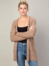 Load image into Gallery viewer, Open Front Knit Cardigan (3 colors available)