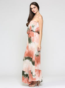 Roberta Tube Ruffled Jumpsuit