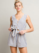 Load image into Gallery viewer, Vertical Stripe Romper