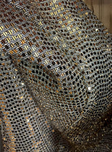 Load image into Gallery viewer, Enigma Gold Sequins Dress
