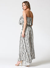 Load image into Gallery viewer, Tube Ruffled Jumpsuit