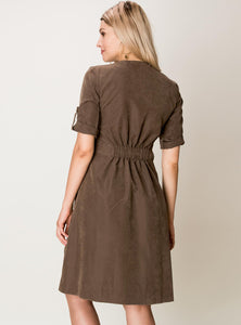Margo Button Down Dress