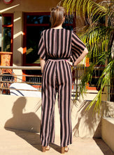 Load image into Gallery viewer, Loretta Front Tie Jumpsuit