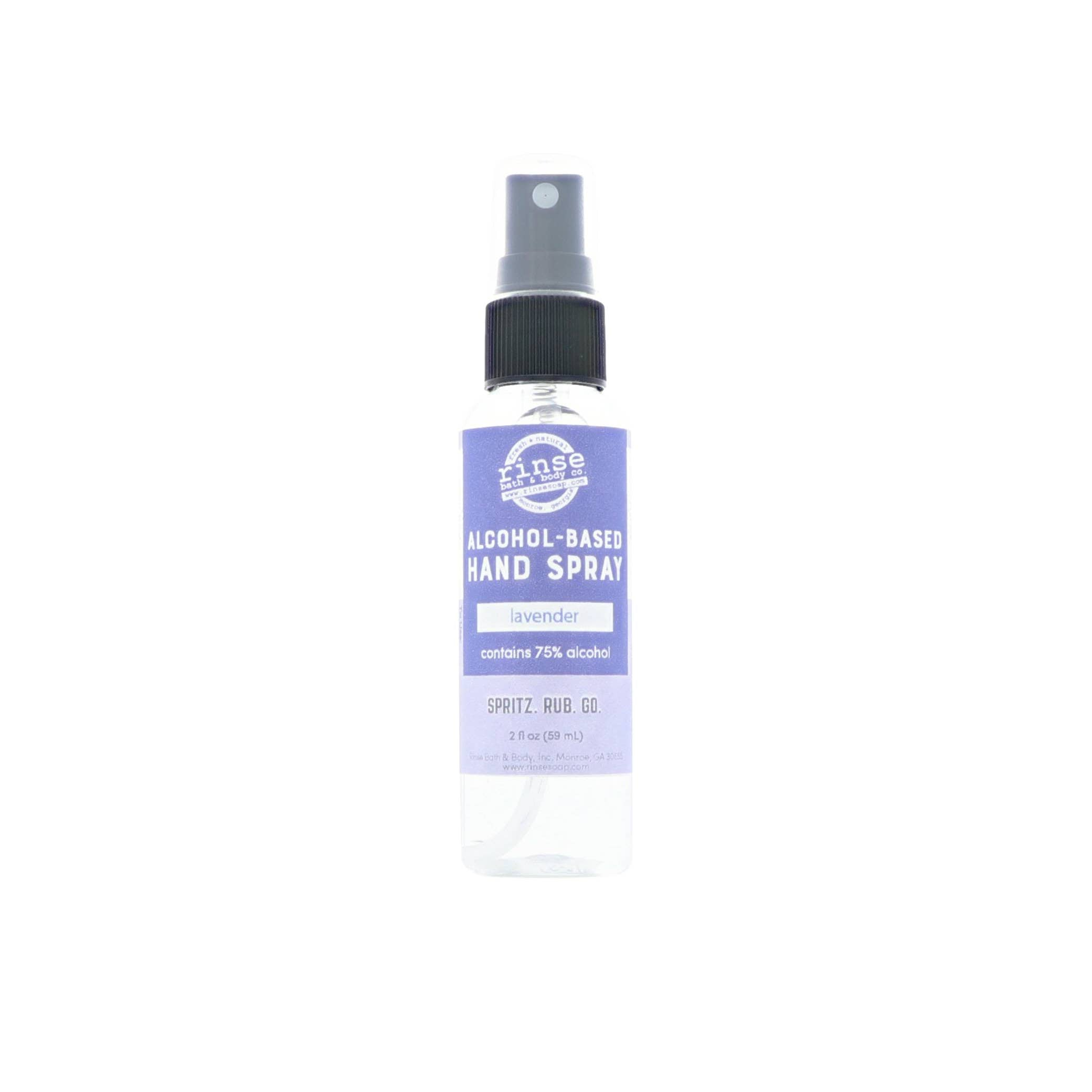 Lavender Hand Sanitizer Spray