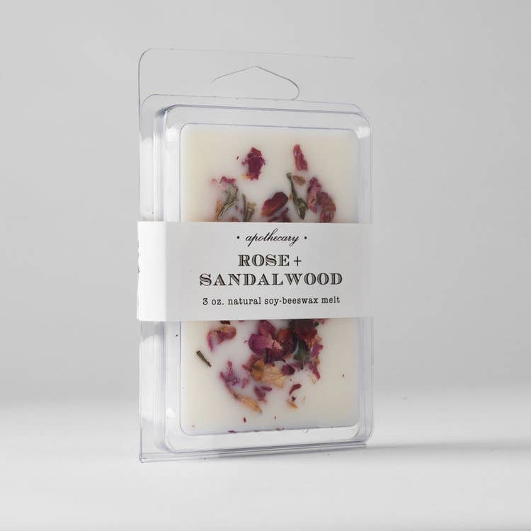 Rose Sandalwood : Wax Melt