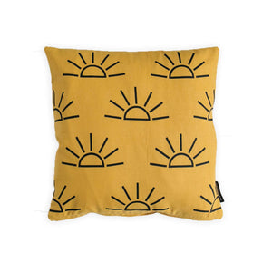 Sunrise Pillow - Mustard