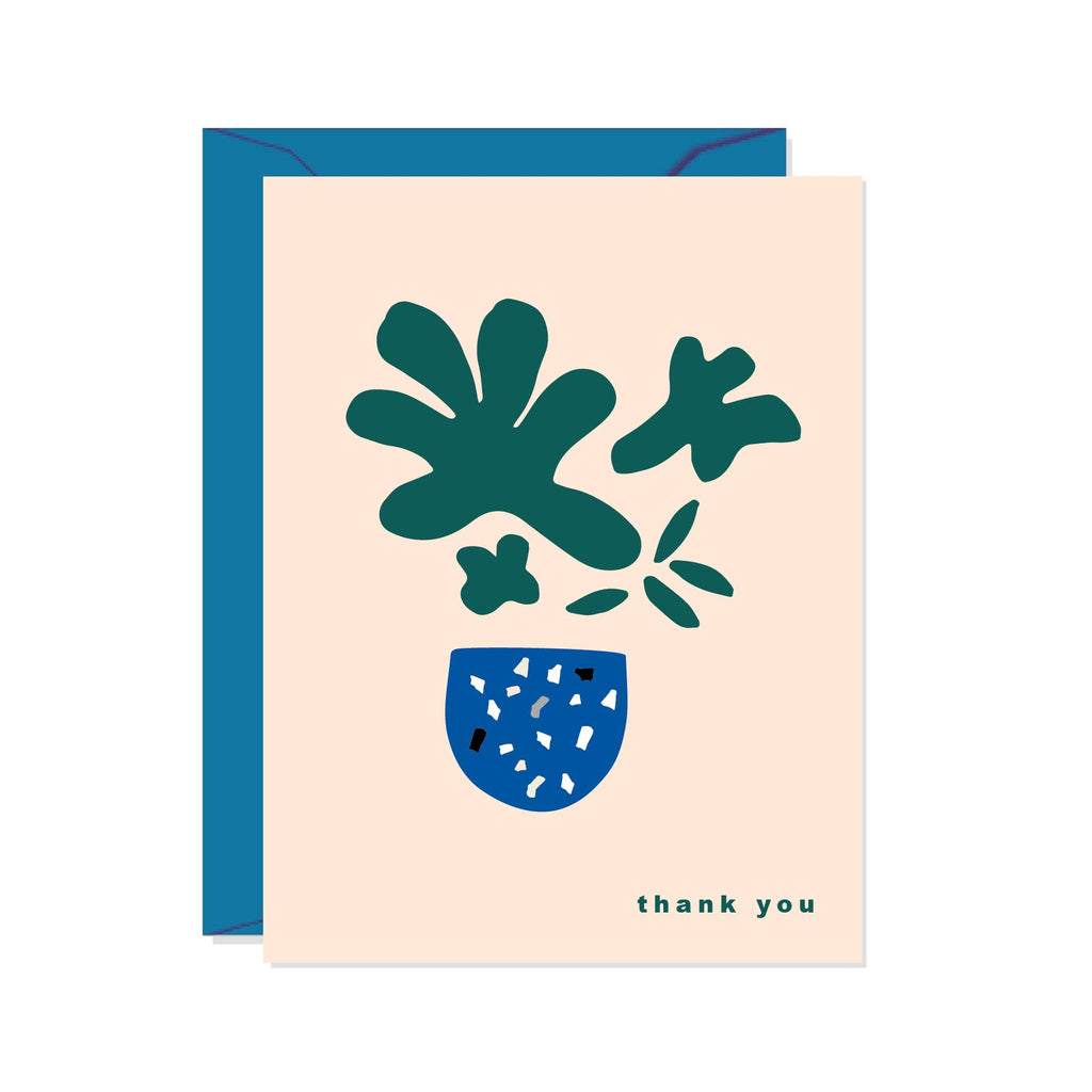 Thank You Plant Card