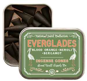 Everglades Incense - blood orange, neroli + bergamot
