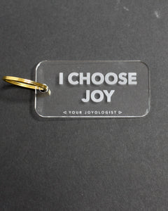 I Choose Joy - keychain