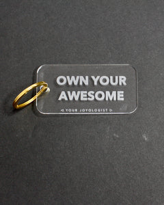 Own Your Awesome Keychain