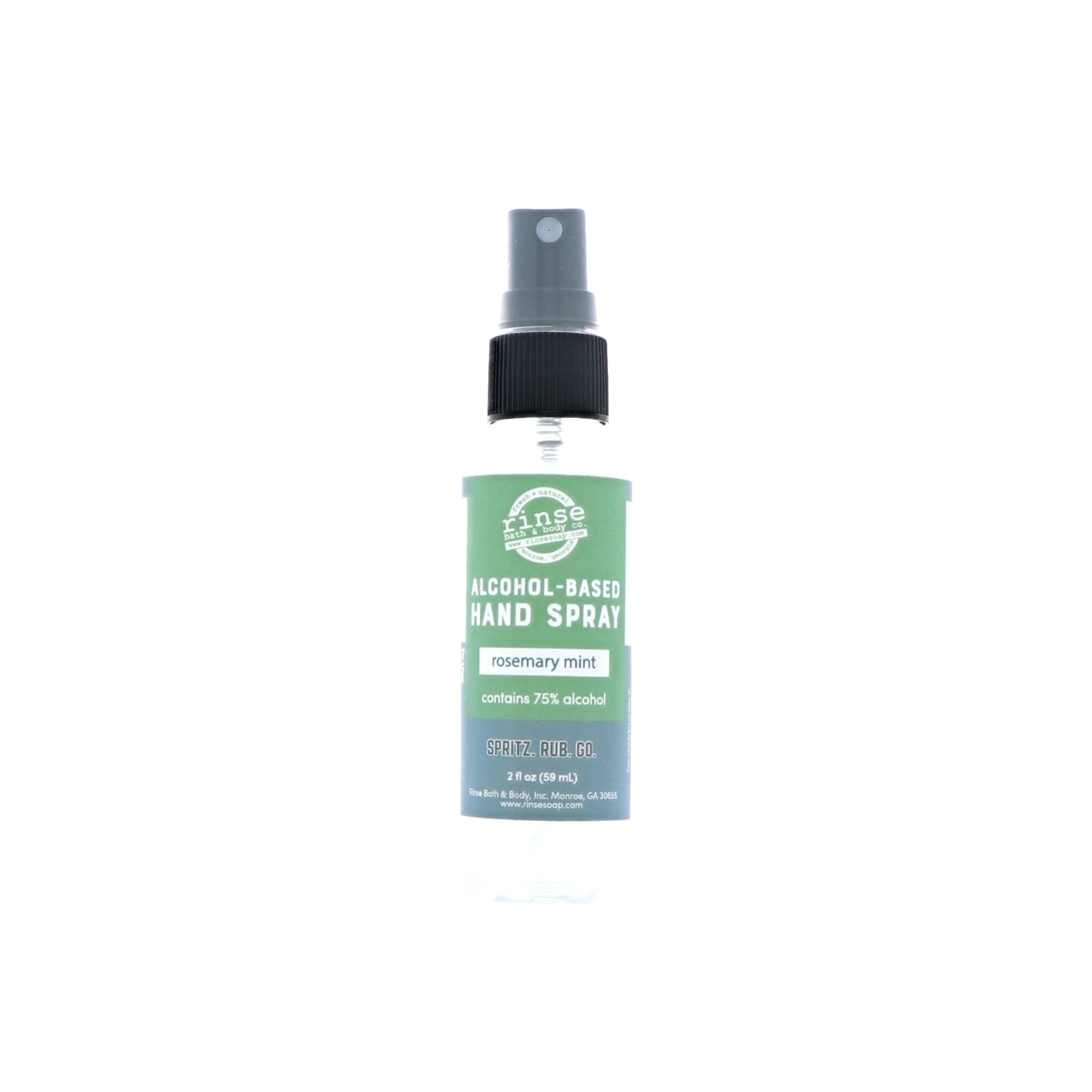 Rosemary Mint Hand Sanitizer Spray