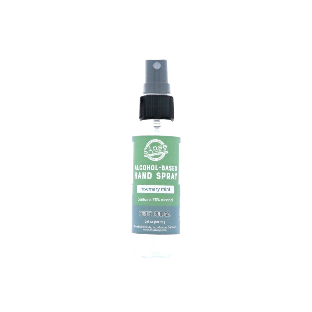 Rosemary Mint Alcohol-Based Hand Spray