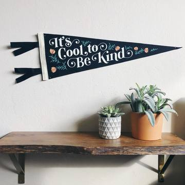 Cool to Be Kind Pennant