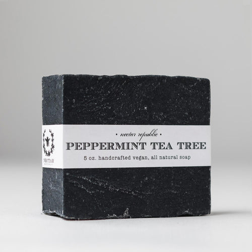 Peppermint Tea Tree : Bath Soap