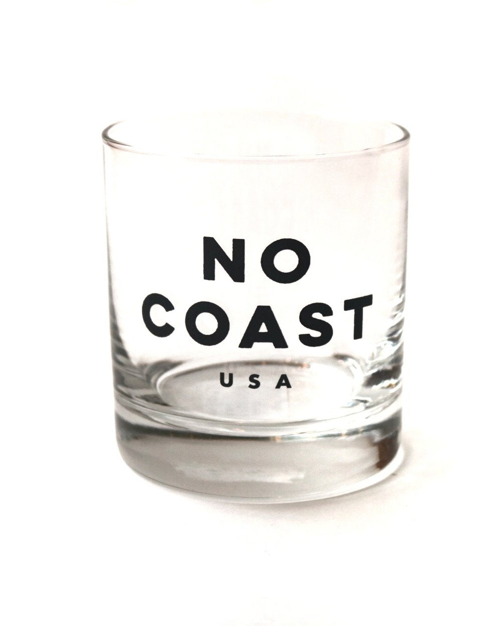 No Coast Rocks Glass