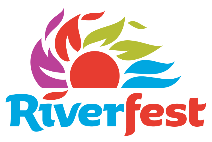 Riverfest Power Sun Sticker