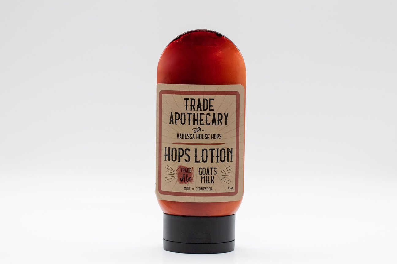Hops Lotion Trade Apothecary
