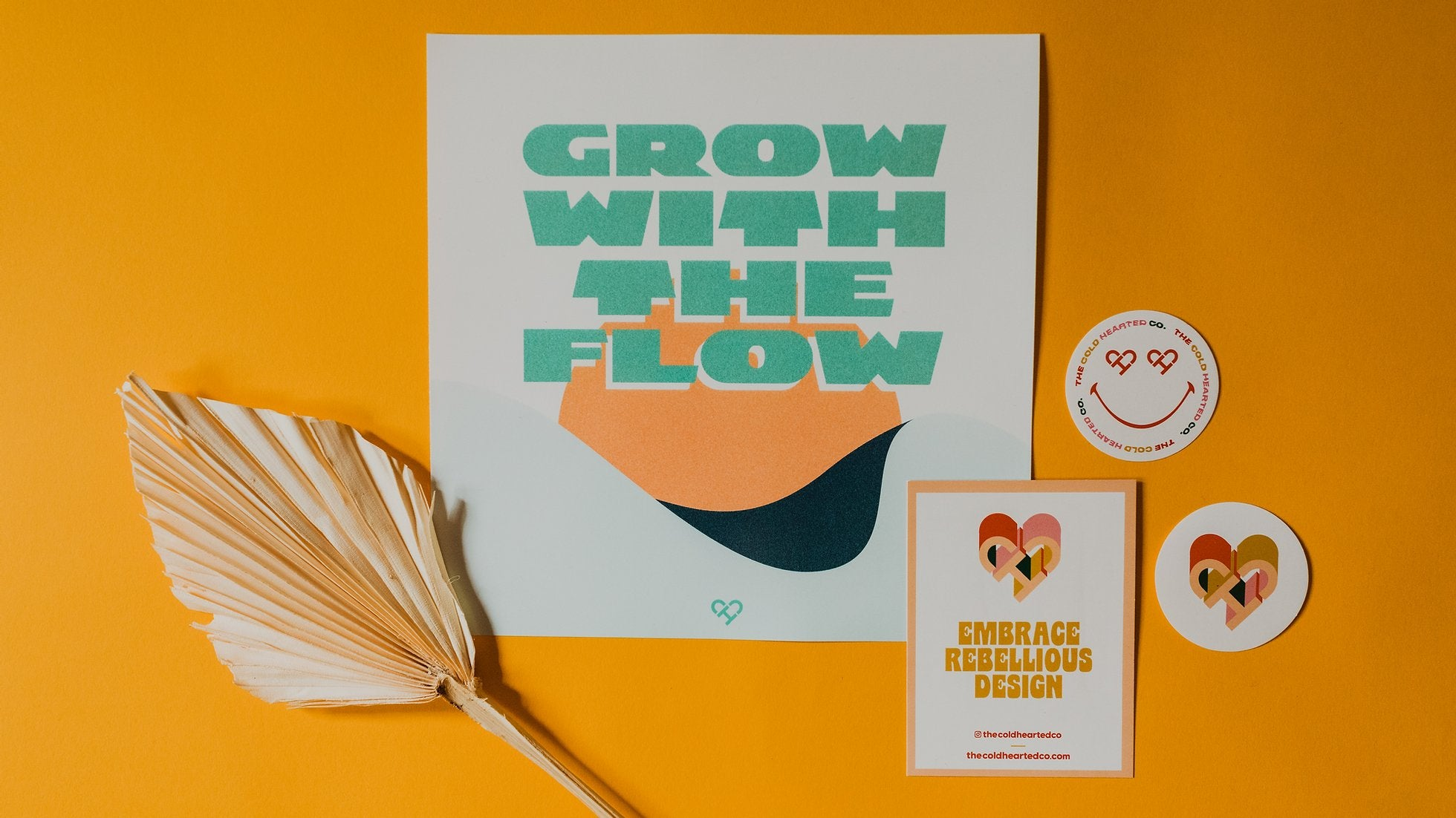 Grow With The Flow Print